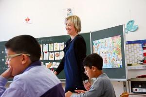 Balingen, Sichelschule, Asyl-Klasse